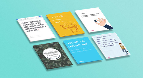 Happy Proofreading Day! 6 Cards to Share With Your Favorite Editor