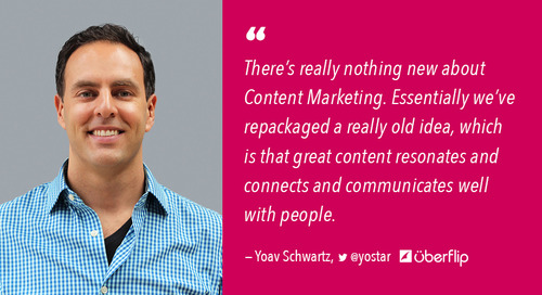How Content Marketing Has Evolved: The Growing Importance of Experience [Podcast]