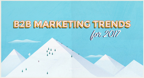 B2B Marketing Trends for 2017 [Infographic]