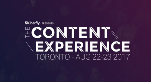 Uberflip rebrands content marketing conference: Calls on speaker applications for August event