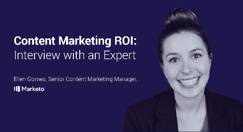 Content Marketing ROI: Interview with an Expert