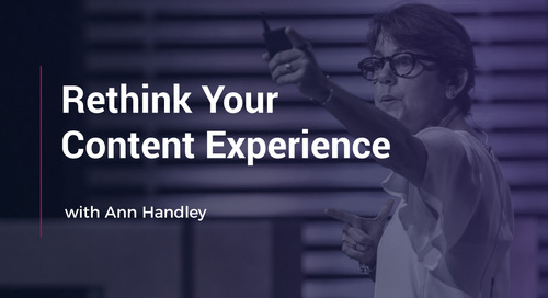 Rethink Your Content Experience With Ann Handley