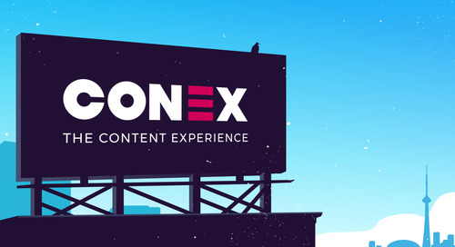 Uberflip Announces Full Lineup of World-Class Keynote Speakers for 2018's Conex Conference