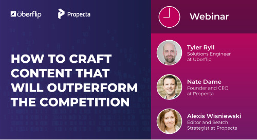 "Webinar: How to Craft the ""Best"" Content to Outperform the Competition"