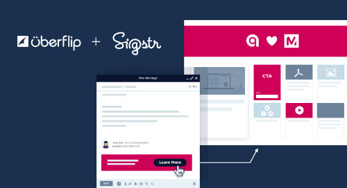 Uberflip and Sigstr Integrate to Bring Personalized Content Into Every Employee Email