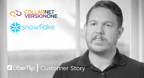 Why Snowflake and CollabNet VersionOne Love Uberflip for ABM