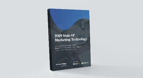 2019 State of Marketing Technology