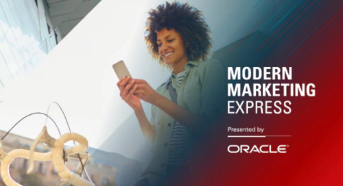 Oracle Modern Marketing Express - San Francisco