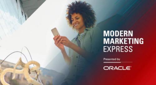 Oracle Modern Marketing Express - NYC