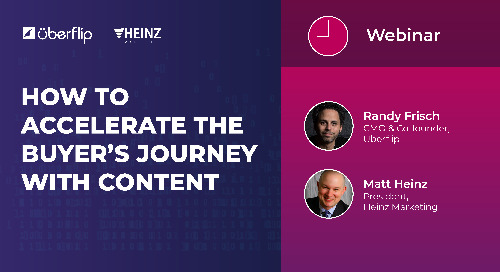 [WEBINAR] How to Accelerate the Buyer's Journey with Content