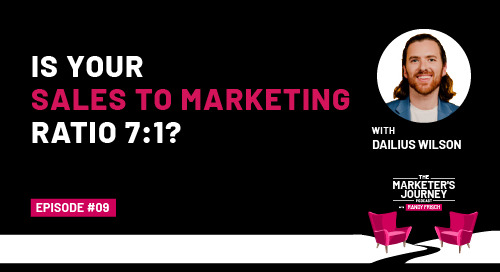 Is Your Sales to Marketing Ratio 7:1? [Podcast]