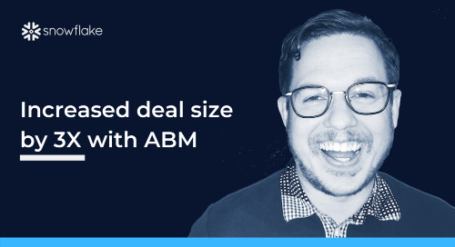 How a Software Company Increased Their Deal Size by 3X with ABM