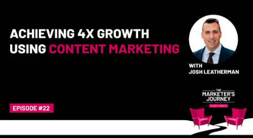 Achieving 4x Growth Using Content Marketing [Podcast]