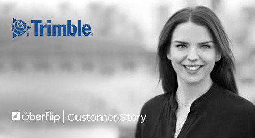 How Trimble doubled marketing sourced revenue with Uberflip