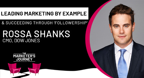 Leading Marketing by Example and Succeeding Through Followership [Podcast]