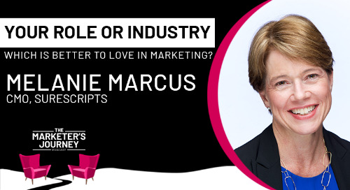 Your Role or Industry: Which is Better to Love in Marketing? [Podcast]