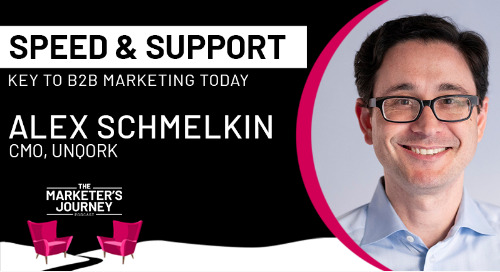 Speed and support key to B2B marketing today [podcast]