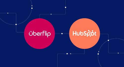 How Uberflip integrates with HubSpot