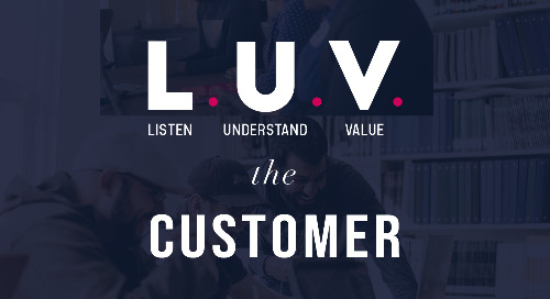 L.U.V The Customer