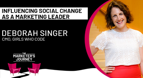 Influencing social change as a marketing leader [podcast]