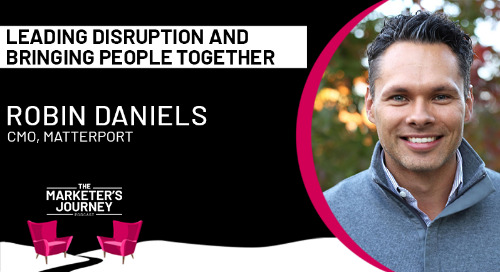 Leading disruption and bringing people together [podcast]