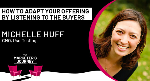 How to Adapt your Offering by Listening to the Buyers [podcast]