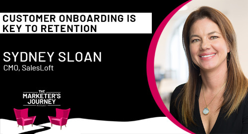 Customer Onboarding is Key to Retention [podcast]