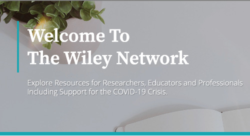 The Wiley Network: Link to Hubs