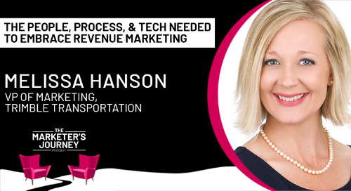 The People, Process and Tech needed to embrace Revenue Marketing [podcast]