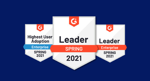 Uberflip recognized as a leader in G2's spring 2021 reports