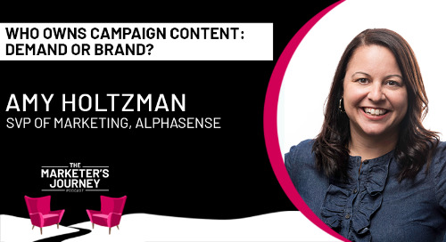 Who Owns Campaign Content: Demand or Brand? [podcast]