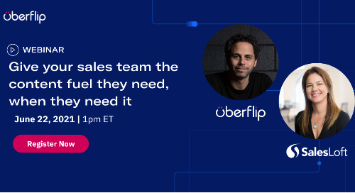 [WEBINAR] Give your sales team the content fuel they need, when they need it