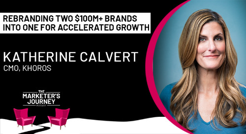 Rebranding two $100m+ brands into one for accelerated growth [podcast]