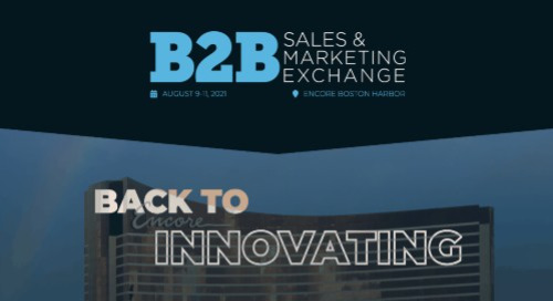 [EVENT] B2B Sales & Marketing Exchange