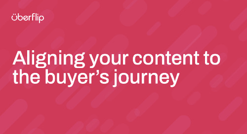 Aligning your content to the buyer's journey