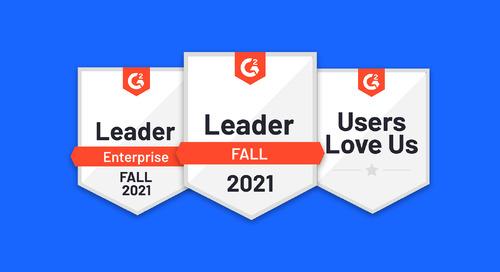 Uberflip named an enterprise leader by G2 based on verified customer reviews