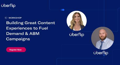 [WORKSHOP] Building Great Content Experiences to Fuel Demand & ABM Campaigns