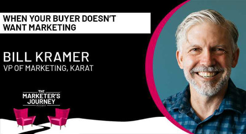 When your buyer doesn't want marketing [podcast]