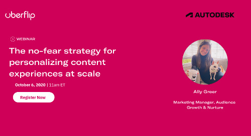 [WEBINAR] The No-Fear Strategy for Personalizing Content Experiences at Scale