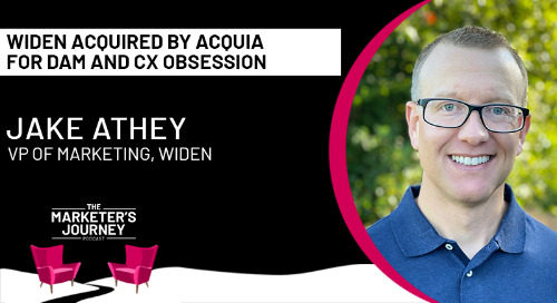 Widen Acquired by Acquia for DAM and CX Obsession [podcast]