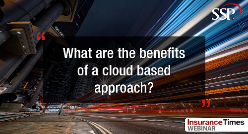 What are the benefits of a cloud based approach?