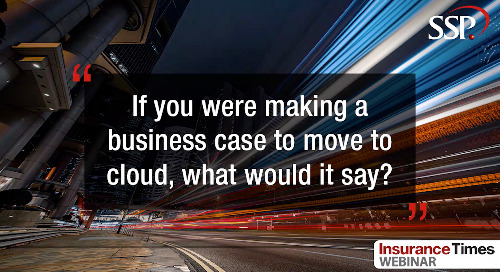 A business case for moving to the cloud