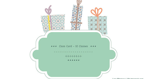 Class Cards & Series: The Gift that Keeps on Giving