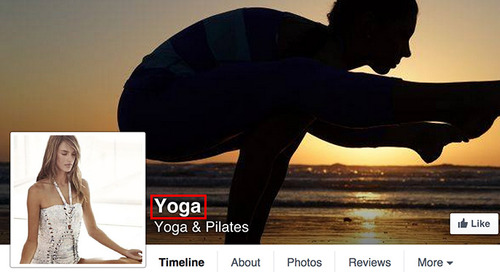 Naming Your Yoga Facebook Page