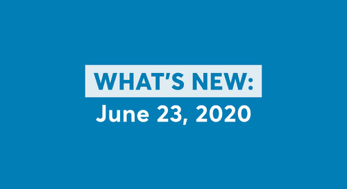 What's New: June 23, 2020 Software Updates