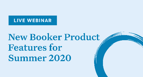 New Booker Features of Summer 2020