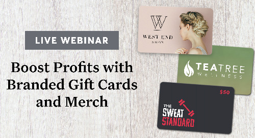 Boost Profits with Branded Gift Cards and Merch [webinar]