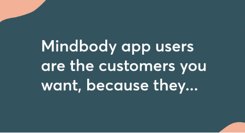 Why Your Business Should Be on the Mindbody App [infographic]
