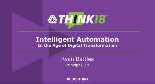 Data Innovation and the role of Intelligent Automation - Wednesday: The Lab
