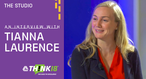 Tiana Laurence Explains Blockchain and Its Use in Credit Unions at the THINK 18 Studio